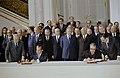 Richard Nixon and Leonid Brezhnev sign ABM treaty and SALT agreement in Moscow.jpg