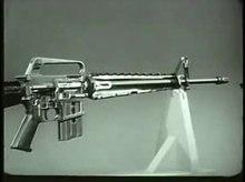 Dosya: Tüfek 5.56mm, XM16E1, Çalışma ve İşleyiş Döngüsü TF9-3663.webm