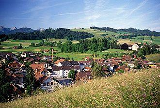Riggisberg - Riggisberg village
