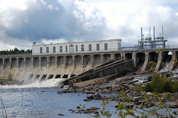 Barrage de Portage-des-Roches