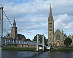 File:River Ness and Churches - Greig Street Footbridge - Inverness Scotland (2900440002).jpg