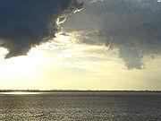 Amazon River at dawn