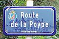 Rives -Plaque de rue - Route de la Poype - 20131102 132332.jpg