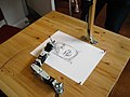 Robot drawing - Brighton Mini Maker Fair 2011.jpg