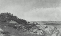 RockyCoast LightHouse 1850s byJohnAmoryCodman MFABoston.png