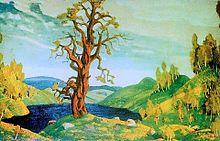 Bozzetto di scenografia - Roerich 1912