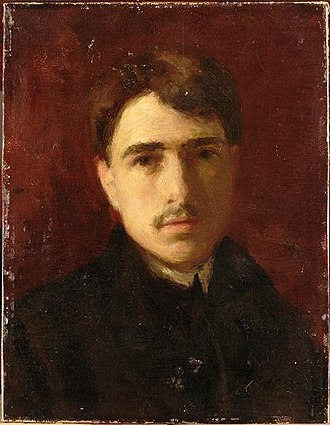 Roger de La Fresnaye - Self portrait, 1905-07, Musée National d'Art Moderne