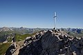 Roggalspitze 2673, Gipfelkreuz 4.JPG