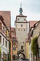 Rothenburg ob der Tauber, Stadtbefestigung, Weißer Turm-20121030-001.jpg