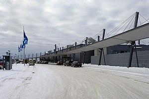 Rovaniemi Airport - Image: Rovaniemi Airport March 6 2009 01