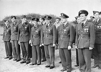 Non-British personnel in the RAF during the Battle of Britain - Pilots of No. 312 (Czechoslovak) Squadron RAF