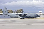 Royal Australian Air Force (A97-440) Lockheed Martin C-130J Hercules taxiing at Wagga Wagga Airport (2).jpg