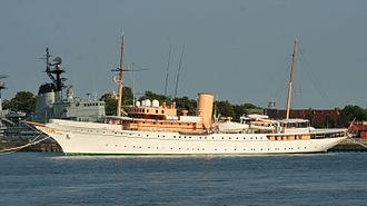 Royal yacht - HDMY ''Dannebrog''