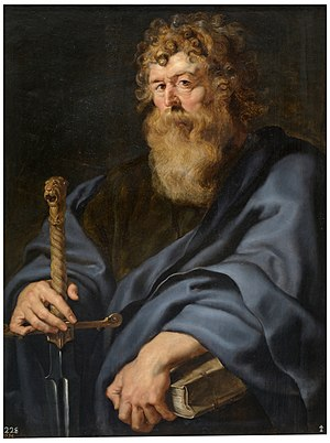 Guild of Romanists - Saint Paul by Rubens