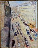 Rue de Rivoli, by Edvard Munch, 1891, oil on canvas - Fogg Art Museum, Harvard University - DSC01583.jpg