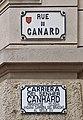 Rue du Canard (Toulouse), plaques.jpg