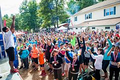 Crowd Of 8000 Participants At Rugged Maniac New England