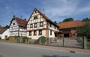 Rumbach - Half timbered houses