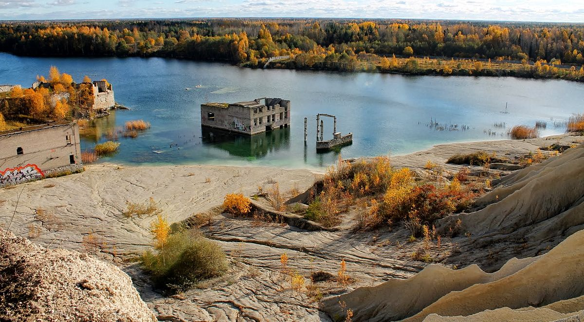 Estonia >> Rummu quarry - Wikipedia
