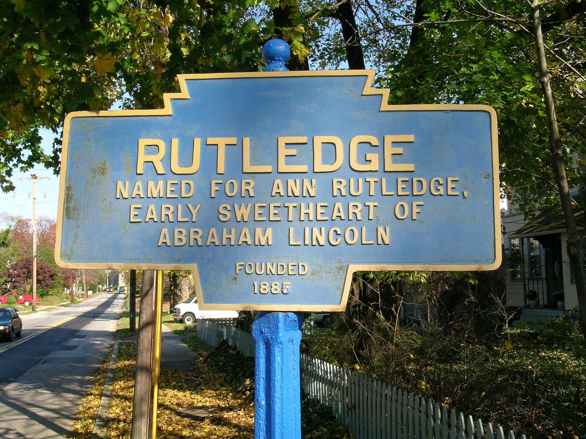 Ann Rutledge Wikipedia