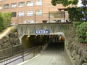 Ryokuchi-kōen Station - East Exit