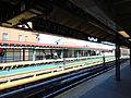 SB Station House & Platform from NB Platform; Simpson St IRT WPR.JPG