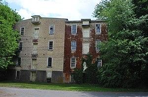 Douglass Township, Montgomery County, Pennsylvania - Image: SCHULTZ'S NIANTIC MILL, DOUGLASS TOWNSHIP, MONTGOMERY COUNTY, PA