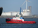 SD STINGRAY, IMO 9448176 in the Mississippi harbor, Port of Rotterdam, pic1.JPG