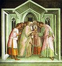 SG NT Judas receiving payment for betraying Jesus, Lippo Memmi