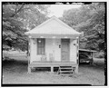SHOT GUN HOUSE, EXTERIOR NORTH. - 355 Third Street (House), Thomas, Jefferson County, AL HAER ALA,37-THOS,5-1.tif