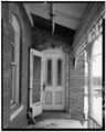 SIDE DOOR, IN REAR EAST-WEST WING AND WEST SIDE - Roemer House, 2739 Old Glenview Road, Wilmette, Cook County, IL HABS ILL,16-WILM,3-11.tif
