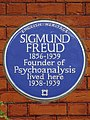 SIGMUND FREUD 1856-1939 Founder of Psychoanalysis lived here 1938-1939.jpg