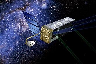 Space Interferometry Mission - A 2006 artist's impression of the SIM Lite predecessor, SIM PlanetQuest, design