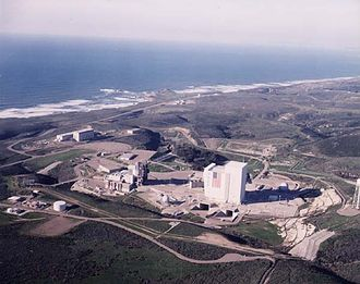 Vandenberg AFB Space Launch Complex 6 - Aerial view of SLC-6 circa 2006.