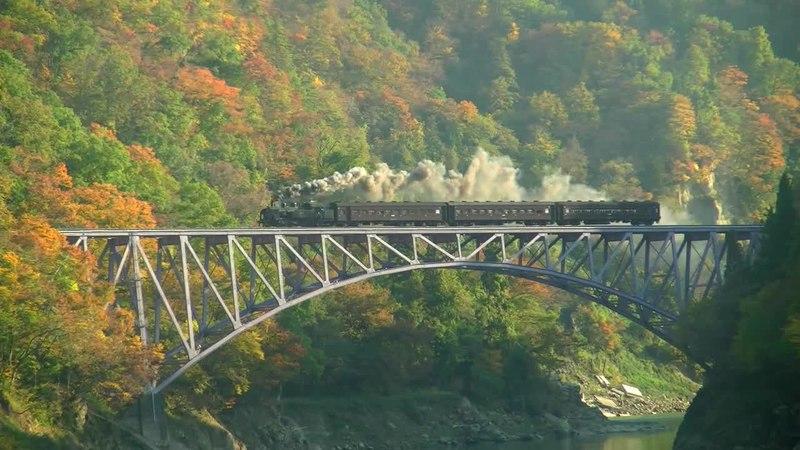 File:SL Tadami Line - Daiichi Tadamigawa Bridge, Japan.webm