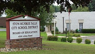 Stow-Munroe Falls City School District - Image: SMFCSD Administration Building 01a
