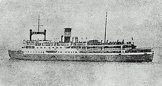 SS <i>Kiangya</i> Chinese passenger steamship