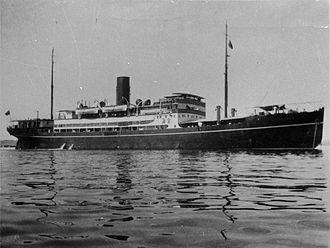 Taikoo Dockyard - Image: SS Shuntien (1934)