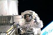 STS-119 EVA1 Arnold01