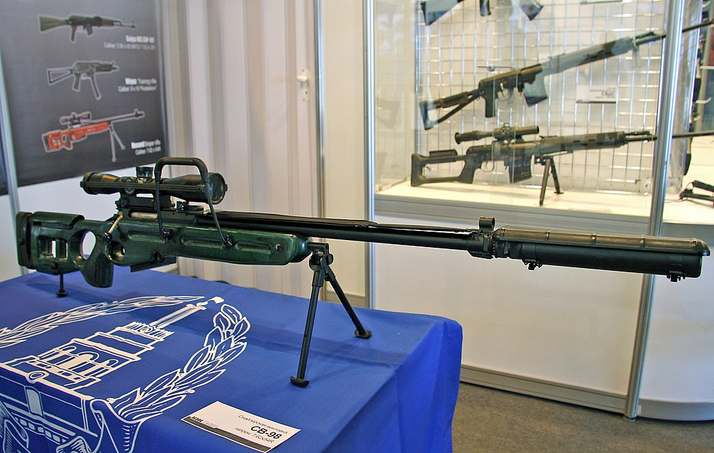 Sniper Rifles in Airborne units 1024px-SV-98_Engineering_technologies_-_2010