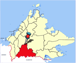 Location of Nabawan