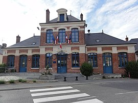 The town hall of Saint-Erme-Outre-et-Ramecourt