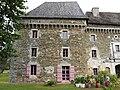 Saint-Pierre-de-Frugie château Frugie tour ouest.JPG