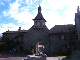 Saint-Prex - Town gate of Sant-Prex