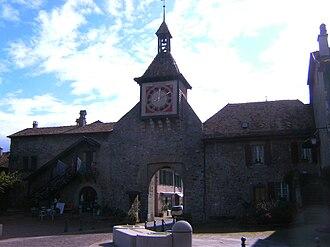 Saint-Prex - Town gate of Sant-Prex
