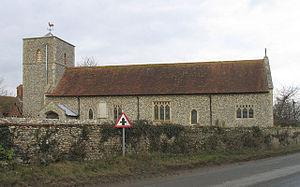 Houghton Saint Giles - Image: Saint Giles Church, Houghton St Giles