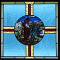 Saint Mary Catholic Church (Gatlinburg, Tennessee) - stained glass, Christ heals a blind man.jpg