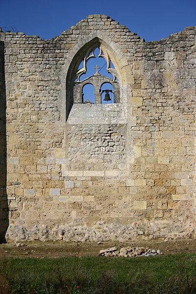 Église Saint-Pierre de Puyrolland - ruines