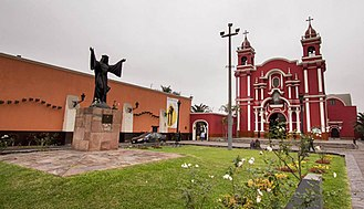 Rose of Lima - Temple, Sanctuary and Convent where she lived in Lima