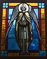 Saint Stephen, Martyr Roman Catholic Church (Chesapeake, Virginia) - stained glass, St. Michael the Archangel.jpg